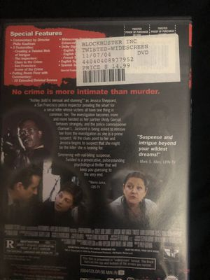 Twisted movie drama movie horror comedy dvd tv cds for Sale in Glendale, AZ