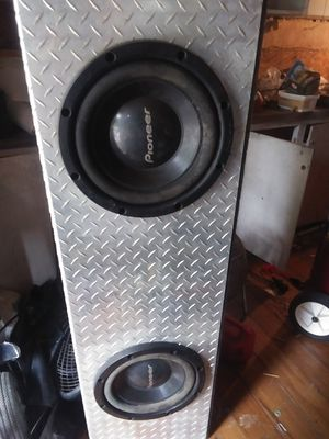 Great sounding subwoofers in a truck box! for Sale in Monroe, NC
