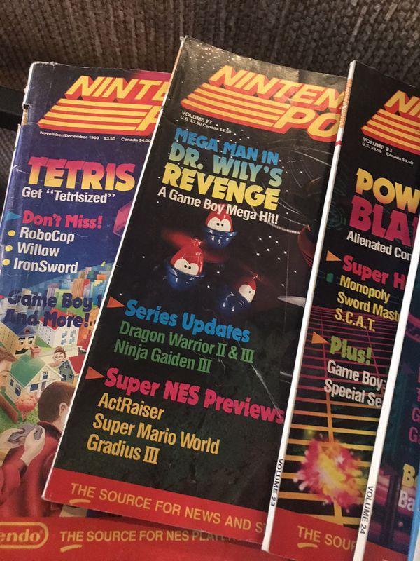 Nintendo power magazines