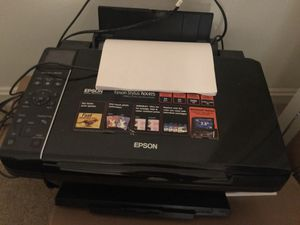 Epson Printer Scanner and Copier NX415 - used - print head needs cleaning for Sale in Arlington, VA