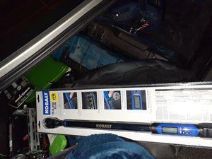 Kobalt 12.5 -250lbs torque wrench for Sale in Deer Park, TX