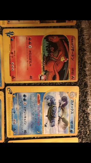 Pokemon card set rare cards ! Charzard near mint for Sale in Silver Spring, MD