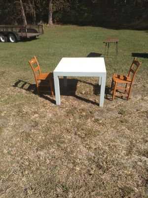 Kids wooden table and chairs for Sale in Benson, NC