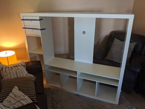 White Entertainment Center-- TV Stand for Sale in Tempe, AZ