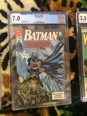 Batman #444 (1990), Wolverine #4 (1982), and Walking Dead #173 (2017) for Sale in Melrose, MA