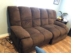 Super comfy love seat recliner for Sale in Santee, CA