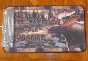 Welcome to Our Paradise Outdoor Door Mat - Brand New!! for Sale in Auburn, WA