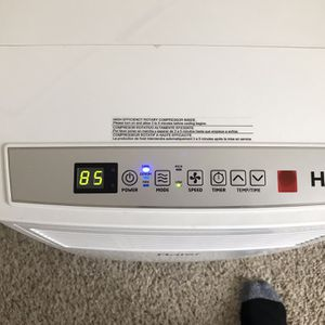 HAIER NJ 07470,Model:HPB08XCM, 8 000 BTU/hr. Portable air conditioner with dehumidifier and heater for Sale in Phoenix, AZ
