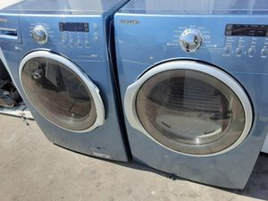 BLUE WASHER AND DRYER SET SAMSUNG SAME DAY DELIVERY for Sale in La Habra Heights, CA