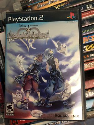 Kingdom hearts chain of memories ps2 $5 if you pick it up for Sale in El Cajon, CA