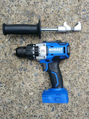 "KOBALT 24 Volt Brushless 1/2"" Hammer Drill (TOOL ONLY) for Sale in Tacoma, WA"