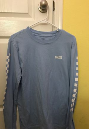 vans long sleeve for Sale in Tomball, TX