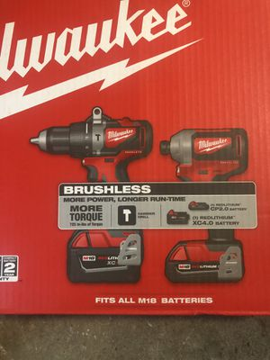 Milwaukee hammer drill set for Sale in Houston, TX