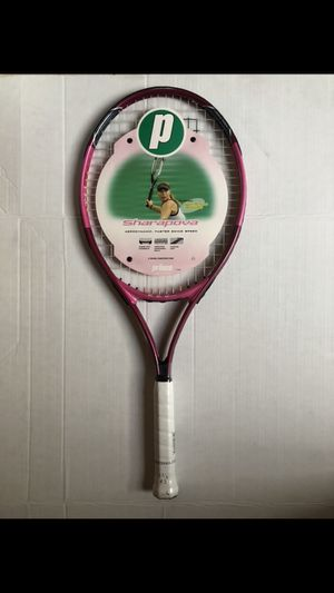 Prince Wimbledon Sharapova Tennis Racket Pink Oversize Fusionlite 7TW86 for Sale in Pasadena, CA
