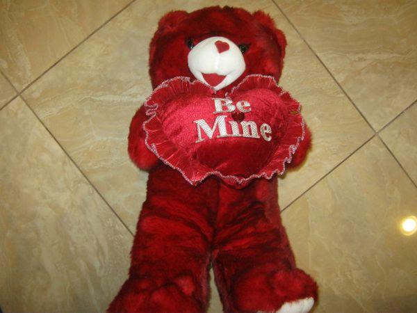 (5) Plush Stuffed Teddy Bears for Sale