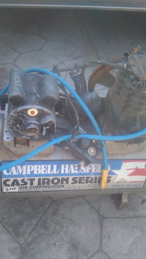 Compressor and pressure washer motor Honda 6.0 for Sale in Stockton, CA