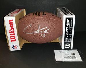 🔥 Christian Kirk autographed football COA🔥 for Sale in El Mirage, AZ