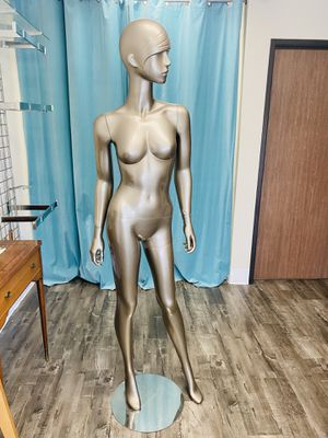 Silver Female Mannequin (Size Small) for Sale in Costa Mesa, CA