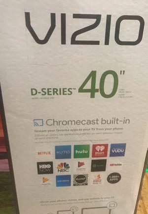 40 inch vizio D- series smart TV for Sale in Philadelphia, PA