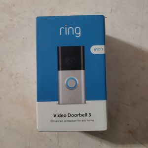 Ring Doorbell 3 1080p HD Security Camera for Sale in Diamond Bar, CA