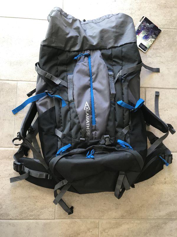NEW JanSport Klamath 55 - camping/hiking backpack