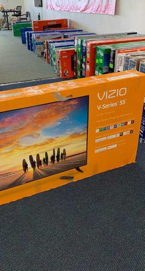 Brand new open box Visio television TV! All new with Warranty! 55 inches! MF for Sale in Dallas, TX