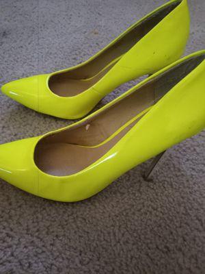 Green Heels .size 6..$10 for Sale in Alexandria, VA