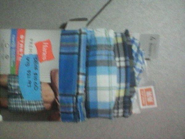 Men's hanes tagless boxer 4 pack brand new