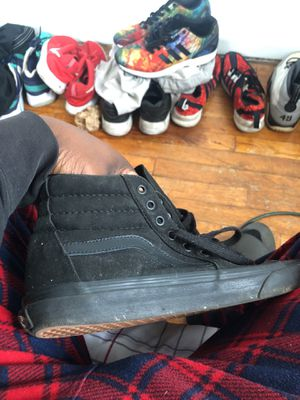 Vans high top all black for Sale in Baltimore, MD