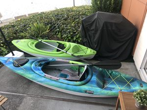 2 Kayaks for 450$ - used few times for Sale in Belmont, CA