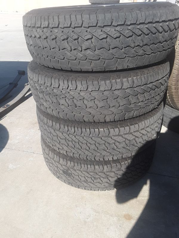Toyota's tacomas rims with tires 2019