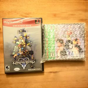 Kingdom Hearts 2 & Final Fantasy 8 SEALED for sale or trade for Sale in Fullerton, CA