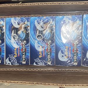 Pokemon XY Evolutions Booster Box (OPEN) Case Sealed (6 booster boxes) for Sale in Burlingame, CA