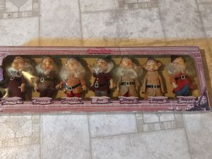 Vintage Disney seven dwarfs in original package for Sale in Laurel, MD