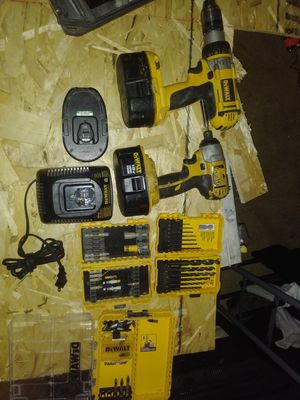 Hammer drill + ipact gun + 3 baterrys. Asking $130!$ for Sale in Denver, CO