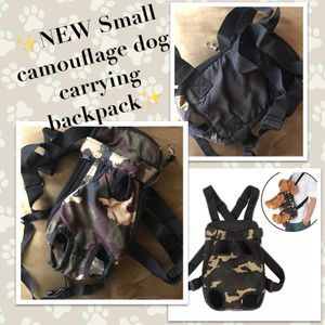 🐾 New Small Dog Camouflage Carrying Backpack🐾 for Sale in South El Monte, CA
