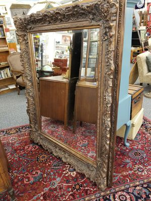 Ornate beveled wall floor mirror for Sale in Vancouver, WA