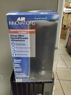 Air Innovations Clean Mist Ultrasonic Humidifier for Sale in Detroit, MI