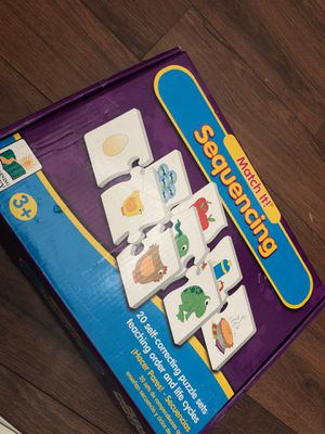 The learning journey - sequencing puzzle for preschoolers - homeschool. Teaching for Sale in AZ, US