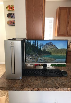 HP computer desktop envy 750-114 GAMING PC for Sale in Raleigh, NC
