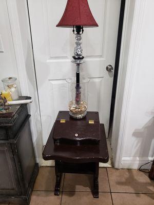 Antique Elephant Lamp aquarium vase desk (antique one of a kind piece) for Sale in Fort Lauderdale, FL