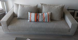 DWR Havana sofa/chaise in oatmeal for Sale in Newport Beach, CA