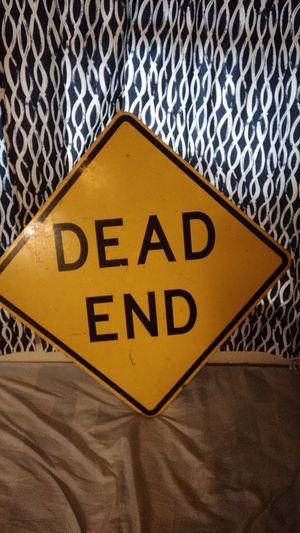 Dead end sign for Sale in Peoria, IL