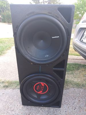 12s subwoofers in probox $125 for Sale in Dallas, TX