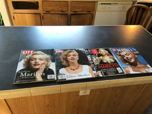 LIFE & TV guide magazine 2012 to 2014 Marilyn rare pictures for Sale in Pasco, WA