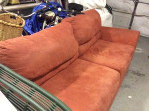 Cinnamon Suade Sofa for Sale in PT CHARLOTTE, FL