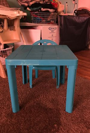 Kids table & chair for Sale in Orem, UT