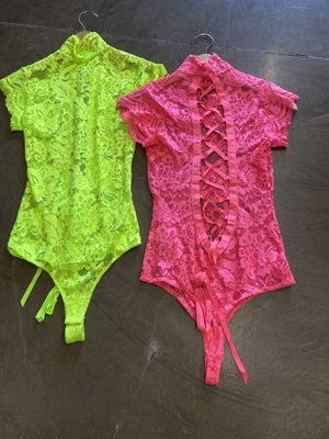 Neon bodysuit for Sale in Los Angeles, CA