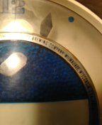 Antique Schlitz Brewing Company Milwaukee beer clock