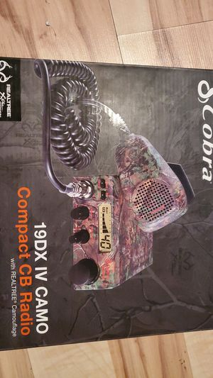 REALTREE COBRA CB RADIO for Sale in Richland, WA